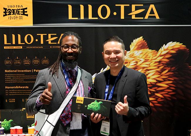 美国发布会-玲珑王小叶茶在美国拉斯维加斯世界茶叶博览会现场-03